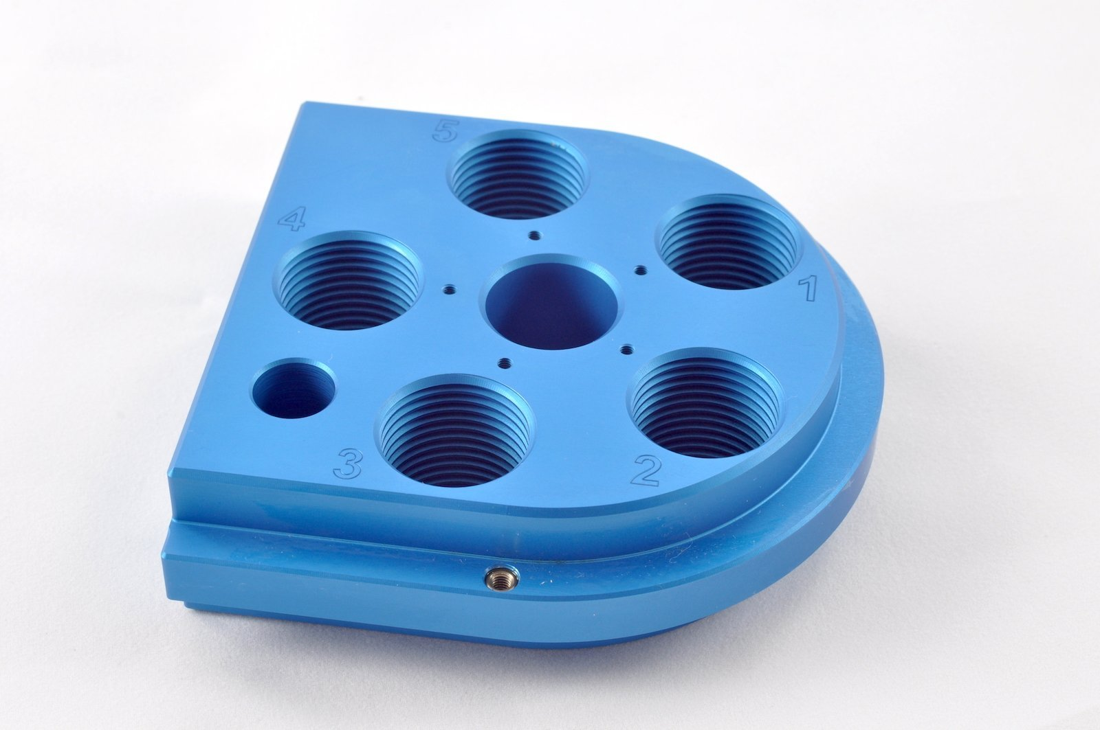 Armanov ToolHead til Dillon 650, Zero Play, Free Float ready - Blue