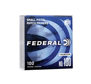 Federal fænghætter, Small Pistol - 1.000 stk.