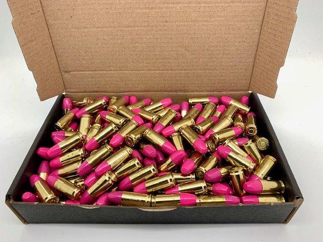 ZMA Ammo Premium 9x19mm 200 stk. 152gr. Pink