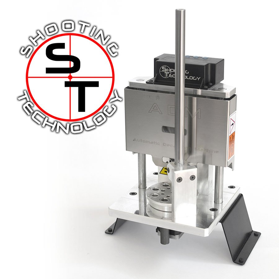 """Shooting Tech """"ADM """" Automatic Decapping Machine"""