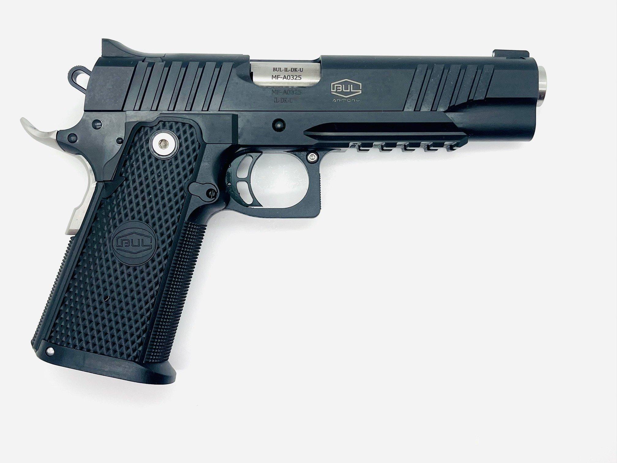 Bul SAS II Tac Government, 9mm