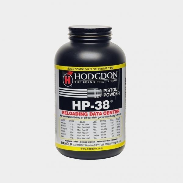 Hodgdon HP 38 krudt 0,454 kg.