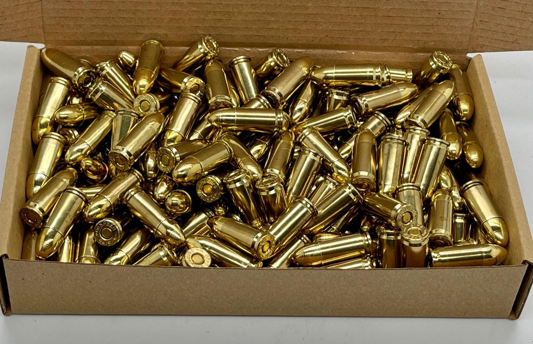 ZMA Ammo Premium 9x19mm 200 stk. 124gr. FMJ