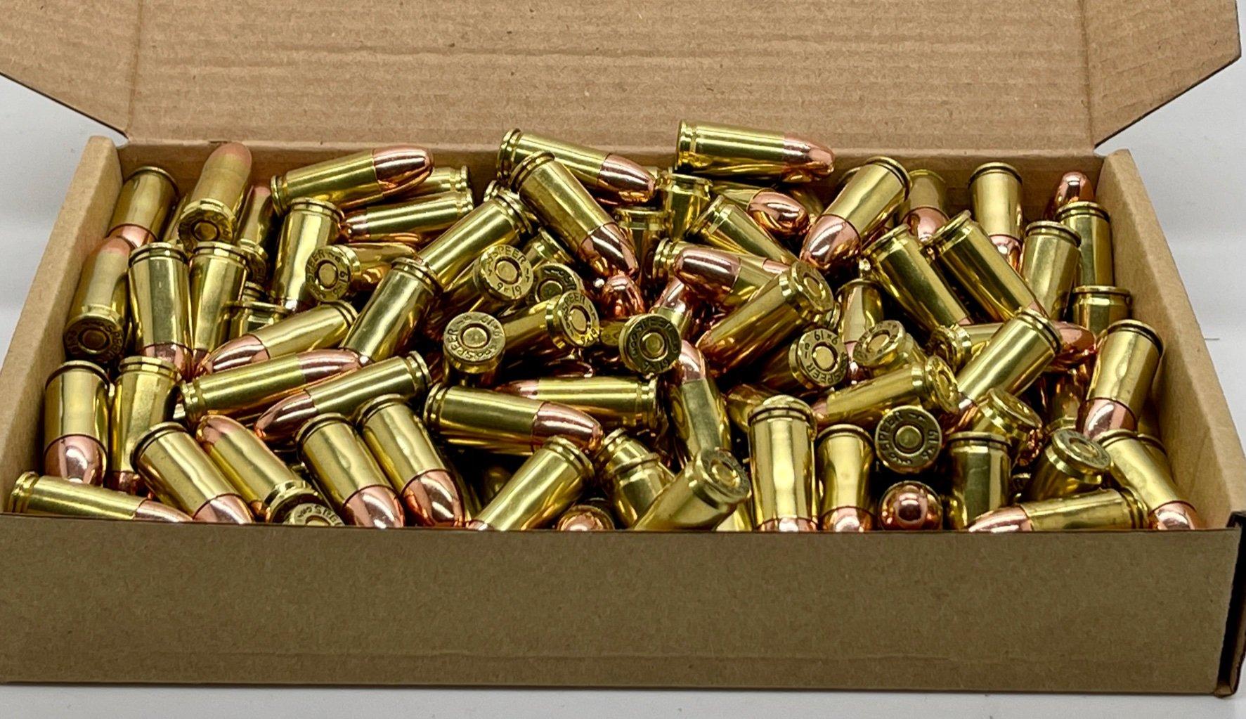 ZMA Ammo Premium 9x19mm 200 stk. 124gr. CamPro RN copper-plated